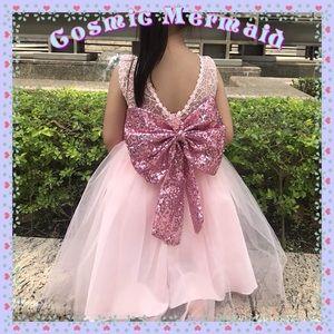 Other - Choose Color🆕⭐️Glam Sparkly Bow Princess Dress⭐️